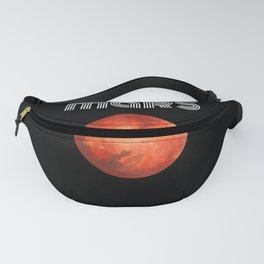 mars occupy planet Fanny Pack