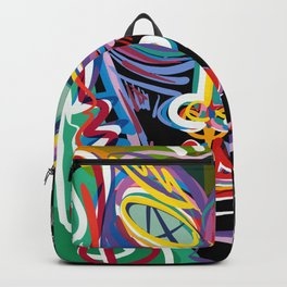 Keep on Holding to your Dreams my Love Street Art Graffiti Backpack