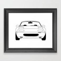 NA Miata/MX-5 Framed Art Print