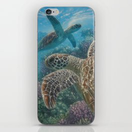 Sea Turtles - Turtle Bay iPhone Skin