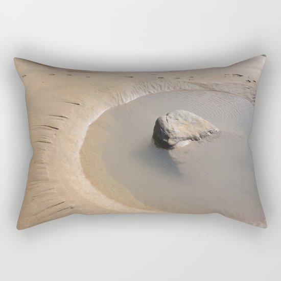 TIDAL POOL CORNWALL BEACH Rectangular Pillow