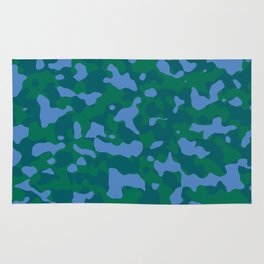 Shaded Meadow Camouflage Rug
