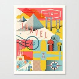 Travel Canvas Print