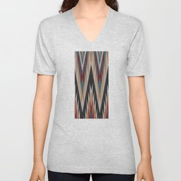 American Native Pattern No. 21 Unisex V-Neck