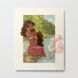 Sirena Metal Print