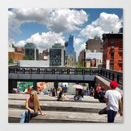 New York: High Line Canvas Print