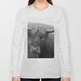 Highland cow I Long Sleeve T-shirt