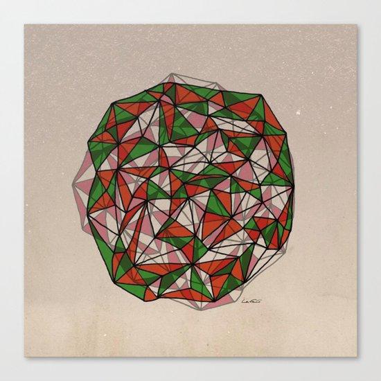 - red orange green - Canvas Print