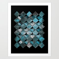 SquareTracts Art Print