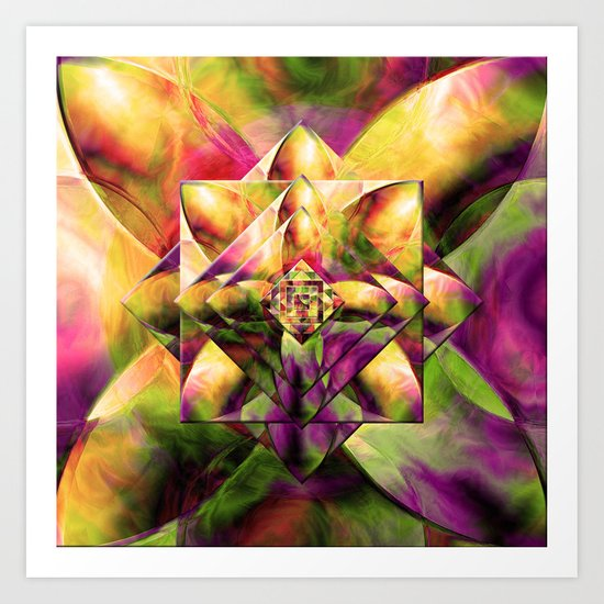 Every New Beginning Comes From Some Other Beginnings' End 2 Art Print