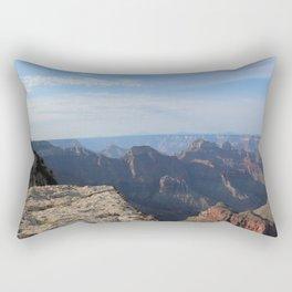 Cliff's Edge at the Grand Canyon Rectangular Pillow
