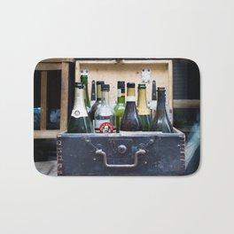 Vintage Bottle Bar Bath Mat