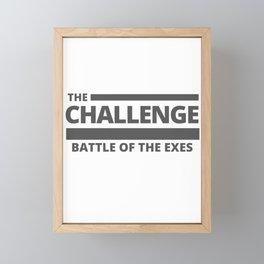 Battle of the Exes Framed Mini Art Print