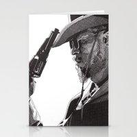 django Stationery Cards featuring Django by Rik Reimert