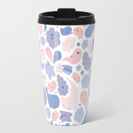 Colors Of The Year Doodle - Rose Quartz & Serenity - Pantone Travel Mug