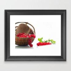 Fresh fruity Decorating Framed Art Print