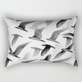 Drawing of Birds Rectangular Pillow