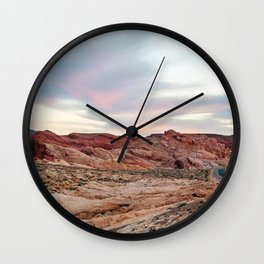 Nevada Mountains Wall Clock