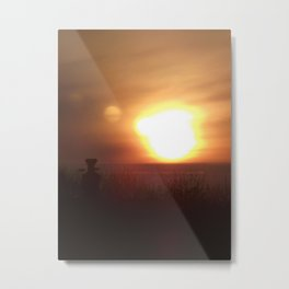 Dawn Expanding Horizon Metal Print