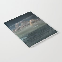 Lighthouse Under Back Light Notebook