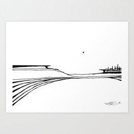 Landscape 110213 Art Print