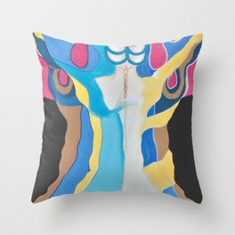 Woman´s tree / EL ARBOL DE LA MUJER Throw Pillow