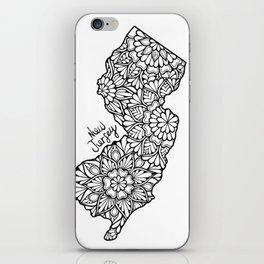 New Jersey Mandala iPhone Skin