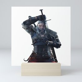 Geralt Of Rivia The Witcher Mini Art Print