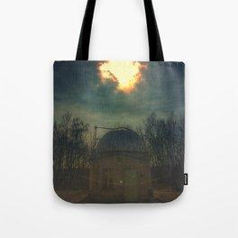 little old observatory Tote Bag