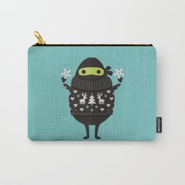 NINJACADO IN HOLIDAY SWEATER Carry-All Pouch