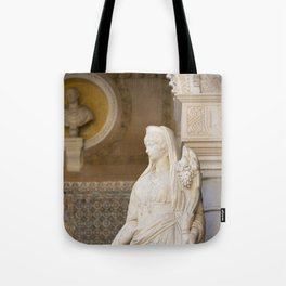 Casa De Pilatos - Sevillian Sculpture Tote Bag