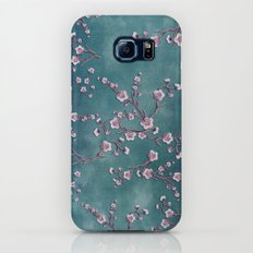 SAKURA LOVE  GRUNGE TEAL Galaxy S7 Slim Case