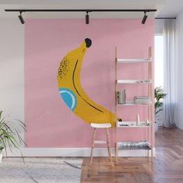 Banana Pop Art Wall Mural