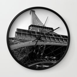Upon the Eiffel Tower Wall Clock
