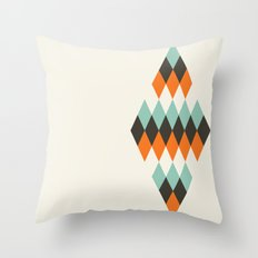 Diamond of Diamonds Throw Pillow