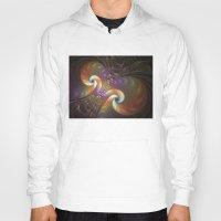 fractal Hoodies featuring Fractal by gabiw Art