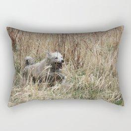 Muddy fun Rectangular Pillow