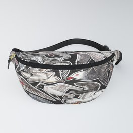 Sea gulls for bird lovers Fanny Pack
