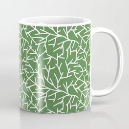 Branches - green Coffee Mug