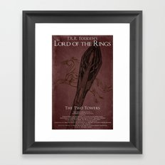 Blood has been Spilled this Night Framed Art Print