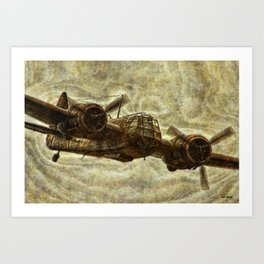 087 Blenheim Art Print