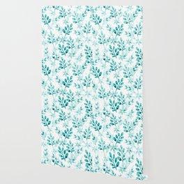 Watercolor Floral VV Wallpaper
