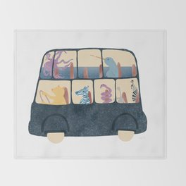 The Cute Commute Throw Blanket