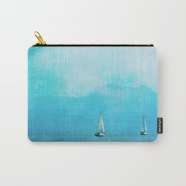 sailing blue Carry-All Pouch