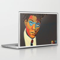 basquiat Laptop & iPad Skins featuring Jean-Michel Basquiat by mr. michael temple