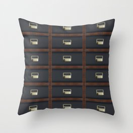Stacking Cabinets Throw Pillow