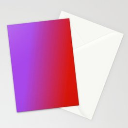 Ombre in Purple Red Stationery Cards
