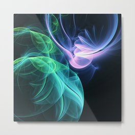 Wings of Light Metal Print