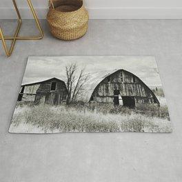 Two Old Barns Rug