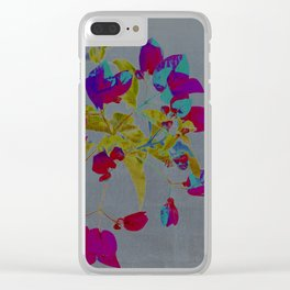 flowery branch Clear iPhone Case
